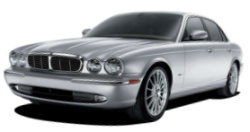 Chauffeur driven cars in Plymouth area, including the long wheel based version of the new Jaguar XJ