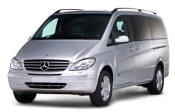 Chauffeur driven Mercedes Viano people carrier - Up to 7 passengers in comfort, from Cars for Stars (Plymouth) - Airport Transfer Services